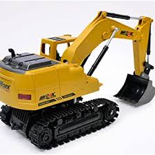 ETbotu <b>RC</b> Excavator 15CH <b>2.4G Remote Control</b> Constructing ...