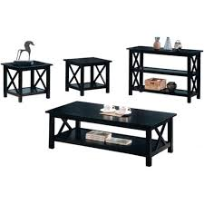 complete black coffee table sets ideas eva furniture wood st