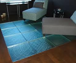 bathroom glass floor tiles. Glass Tile Floor From ThinkGlass \u2013 Walking On Is A New Experience Bathroom Tiles .