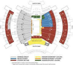 Indiana Basketball Seating Chart Iu Assembly Hall Seating Chart