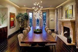living edge lighting. view in gallery cascading chandelier coupled with live edge table the dining room design gordon gibson living lighting o