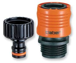 faucet to garden hose adapter. Claber 8458 Faucet To Garden Hose Quick Connector Set ** Check This Out By Going Adapter A