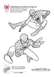 The printable spiderman coloring pages feature basic ranges of shapes and sizes, and coordinate them into a singular fun activity! Free Printable Spiderman Colouring Pages And Activity Sheets In The Playroom