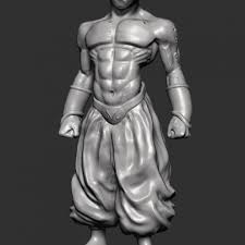 3D Printable <b>Dragon Ball</b> - <b>Kid</b> Majin Boo by Francesco Palmiero