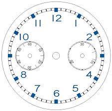 Uhrzeit lernen pdf arbeitsblatter uhrzeit klasse 2. Vorlage Fur Zifferblatt