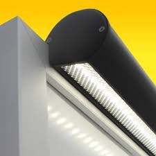 led frame mount trough lighting