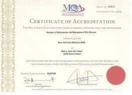 Recognition And Accreditation