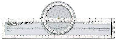 How To Use A Plotter On A Sectional Chart Rotating Flight Navigation Plotter Lexan Aviation