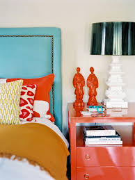 Turquoise bedroom furniture Turquoise White Wash Brightly Colored Turquoise And Coral Asianinspired Bedroom Hgtvcom Coral And Turquoise Color Palette Inspiration Hgtvs Decorating