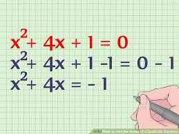 image titled find the vertex of a quadratic equation step 7