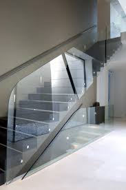 Moscow architecture Glass balustrade to stairs Paris Reaumur-Sebastopol **.