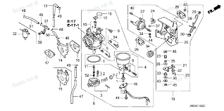 similiar honda gx carburetor parts breakdown keywords honda gx390 electric start wiring diagram likewise honda gx390