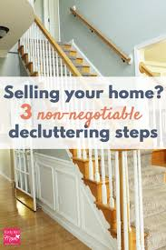 here are 3 steps to take if you want to declutter and stage your home for
