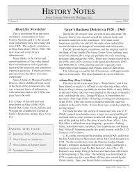 Gray Newsletter Part 2 Spring 2008