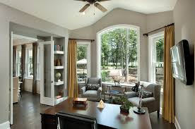 home office decorators tampa tampa. Bright Arthur Rutenberg Trend Tampa Traditional Home Office Image Ideas With Arched Window Corner Shelves Curtain Decorators T