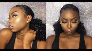 dewy neutral makeup tutorial for dark brown skin you