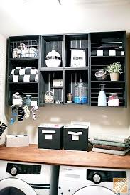 grey wooden crates 2 crate storage shelving unit