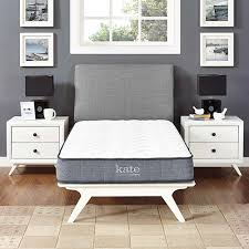 Modway Furniture Kate 8 Inch Twin Mattress in White. Bellacor Number: 2017913. 2128MOD-5776-WHI In White Standard Beds