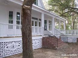 Mobile Home Skirting  Brick Rock And Stone Panel OptionsDecorative Mobile Home Skirting