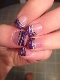 French Nail Art Designs 2014 Cool Best Gel Nail Art Designs 2014 Purple Gel Nails Nail
