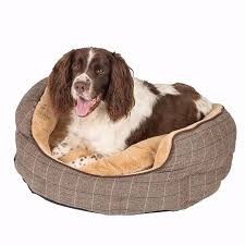 dog bed large high quality wainwright s highlander scallop
