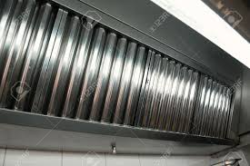 Exhaust Hood Filter Exhaust Systems Hood Filters Detail In A Professional Kitchen