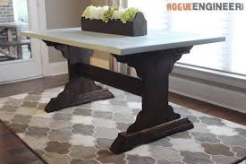 dining table woodworkers: rogue engineers free monastery dining room table plan