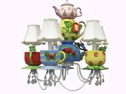 alice in wonderland teapot chandelier by louise antoinette