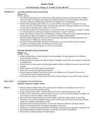 Microsoft Premier Field Engineer Sample Resume Senior Premier Field Engineer Resume Samples Velvet Jobs 17