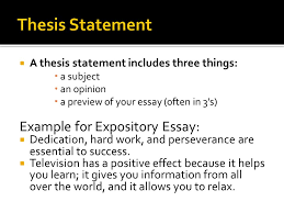 developing a thesis ppt  10 thesis statement example for expository essay