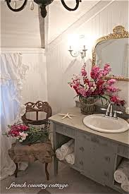 french country bathroom. bathroom makeover from french country cottage. every k