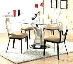 modern round glass dining table modern round glass dining table set stair railings concept fresh in
