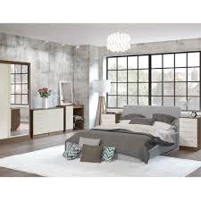 Lea Bedroom Furniture Birlea Lynx Walnut Cream Bedroom Furniture Big Savings On Birlea