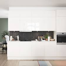Wear Resistant High Gloss Kitchen In White White High Gloss Hth