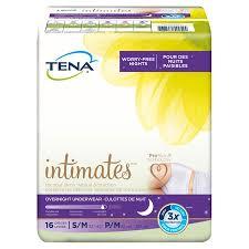 Tena Brief Sizing Chart Tena Incontinence Underwear Overnight Medium 16 Ct