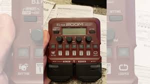 <b>Процессор эффектов</b> для бас гитары <b>Zoom B1</b> Four купить в ...
