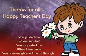 Happy Teachers Day Chart 50 Beautiful Teachers Day Greeting Card Pictures And Images