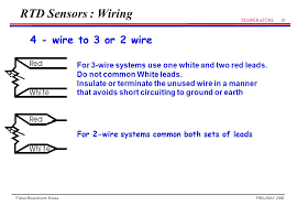 rtd sensor temperature ppt video online download 4 Wire Rtd To 3 Wire Input 10 rtd sensors wiring 4 wire to 3 4 wire rtd wiring to 3 wire input