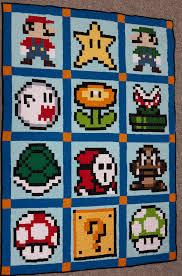 Finished my Mario Quilt! &  Adamdwight.com