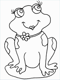Frog Coloring Pages For Preschoolers Dapmalaysiainfo