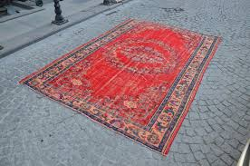 anatolian rug bohemian rug turkish rug ethnic rugs red rug with