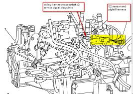 chevrolet cobalt oxygen sensor the wires are different colors graphic