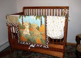 lion king crib set