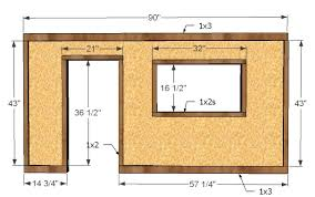 how to build a front doorAna White  Build a Playhouse  Front Wall Options and Door  DIY