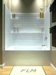 bathtub wall ideas elegant surround options enclosure splendid intended for 5 shower trim pieces fiberglass shower surround