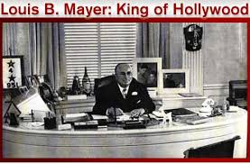 「Louis B. Mayer, head of the powerful MGM」の画像検索結果