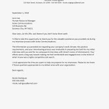Thank You Letter For Job Opportunity Examples Job Search Help Thank You Letter Examples