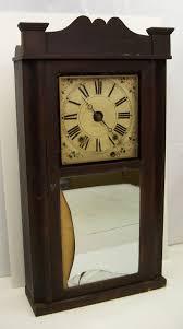 wooden works alarm clock