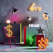 Neon Lights Urban Outfitters Neon Lights Are The Latest Must Have Home Accessory Ideal Home