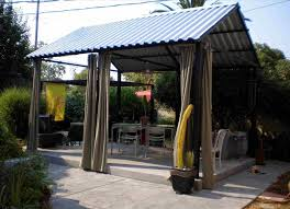 free standing patio cover. Freestanding Metal Roofing Patio Cover Free Standing